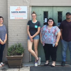 9 Mount St. Joseph University students join Santa Maria for Summer Employment Program