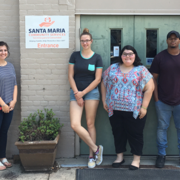 9 Mount St. Joseph University students join Santa Maria for Summer Employment Program