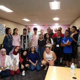 Iraqi teens visit Youth Development Program